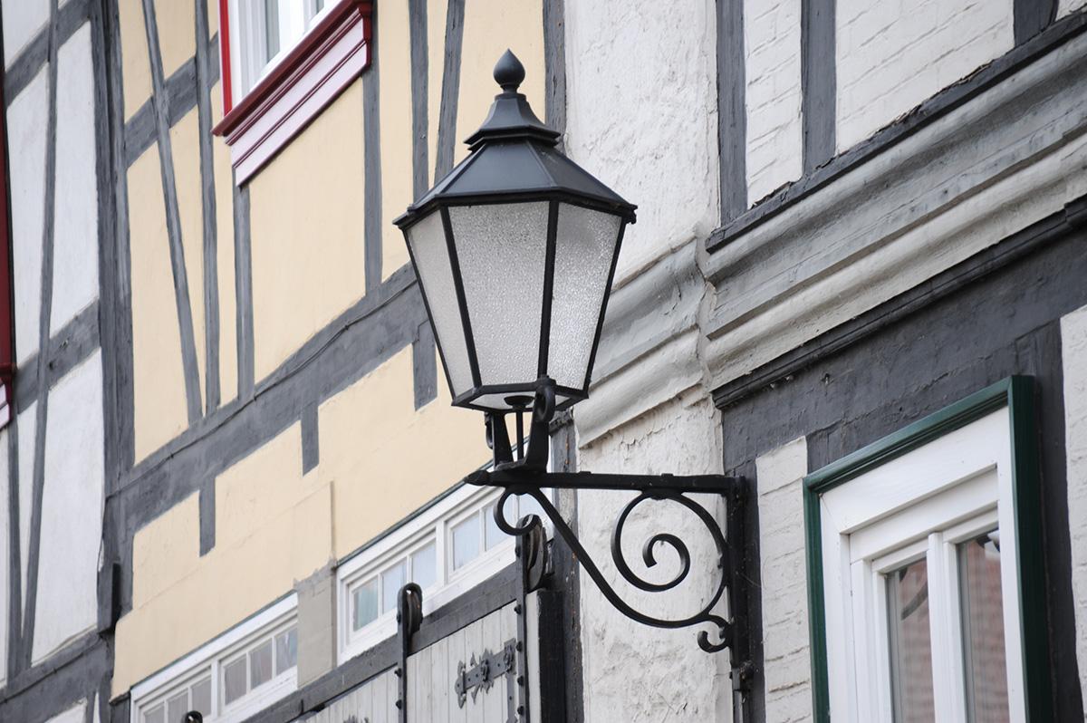 european-street-light